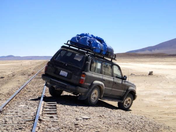 Danger Bolivian salt flats