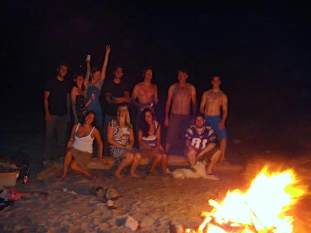 Santa Teresa Beach Bonfires