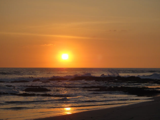 Santa Teresa Beach Sunset