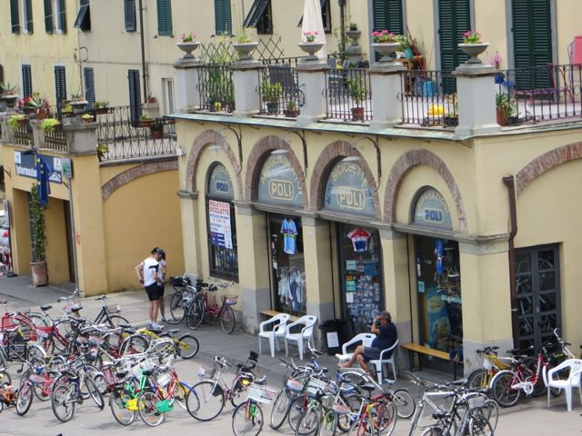 One Day in Lucca Bike Hire