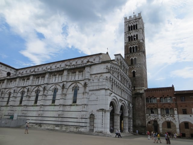 One Day in Lucca Cathedral Tower