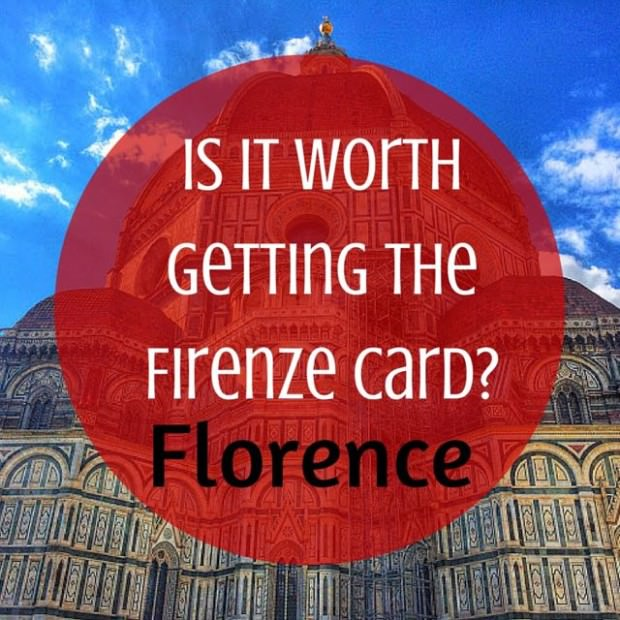 Is it Worth Getting the Firenze Card? | Indiana Jo