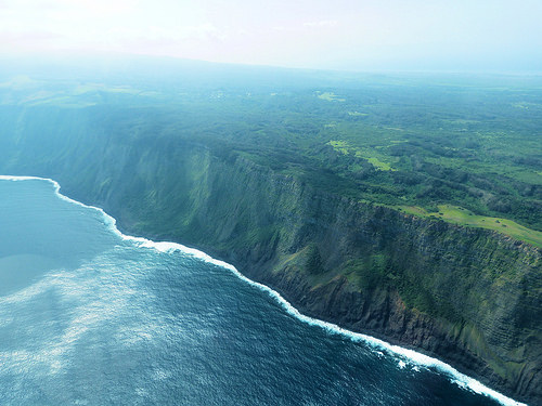 Molokai in the Hawaiian Islands