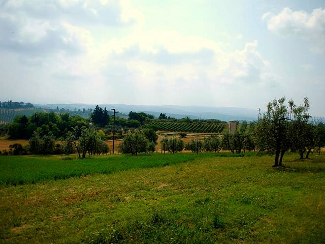 Leave the City for Rolling Green Countryside in Tavarnelle val di Pesa