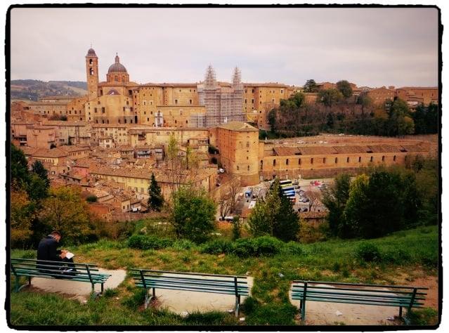 Panorama Urbino Italy