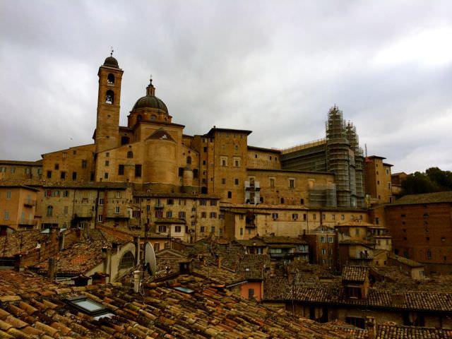Urbino Rooftops Panoramas