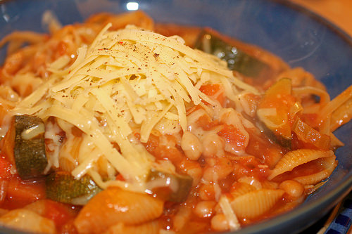 Italian Cuisine in Rome try Minestrone Soup