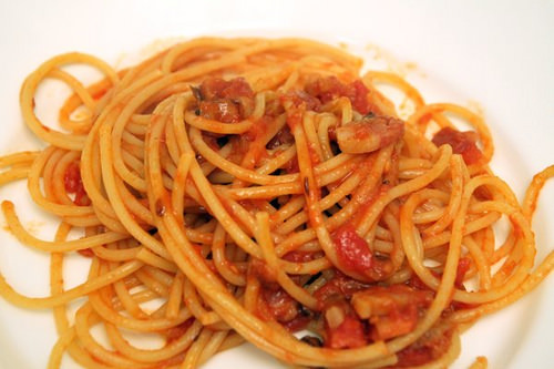 Pasta is a favourite Italian Cuisine