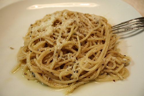 Try Italian Cuisine in Rome with Pasta and cheese