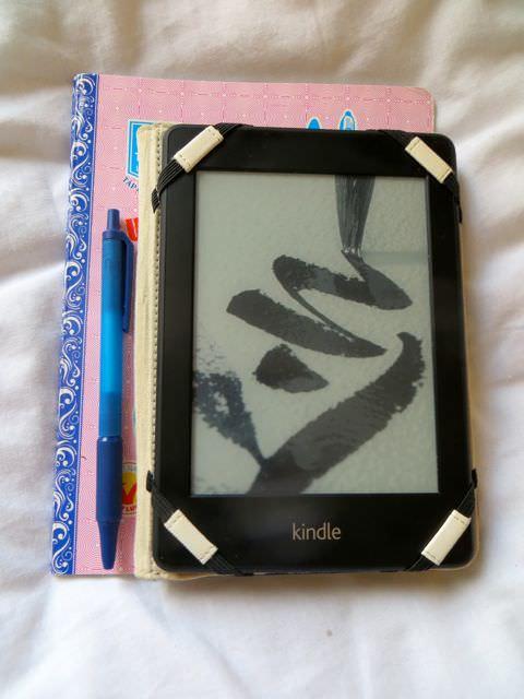 Kindle - better for packing light