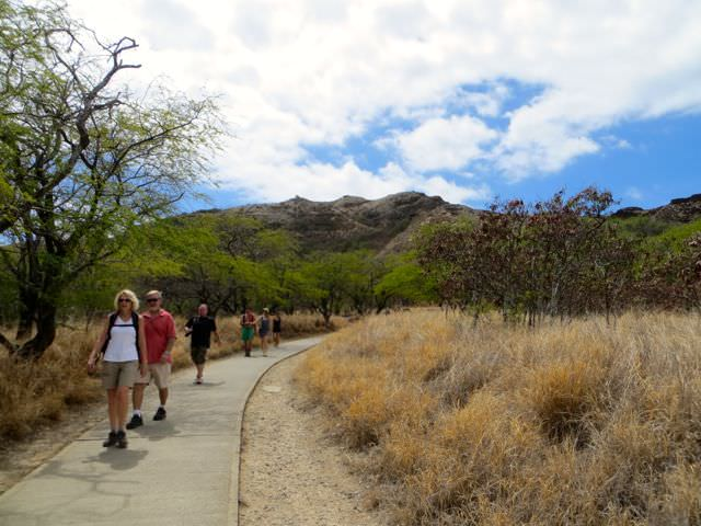 Diamond Head Trail Path