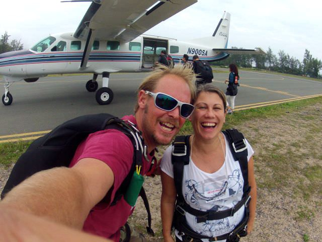 Skydive Hawaii plane