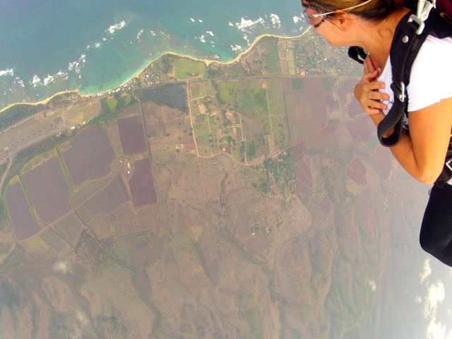 Skydive Hawaii view