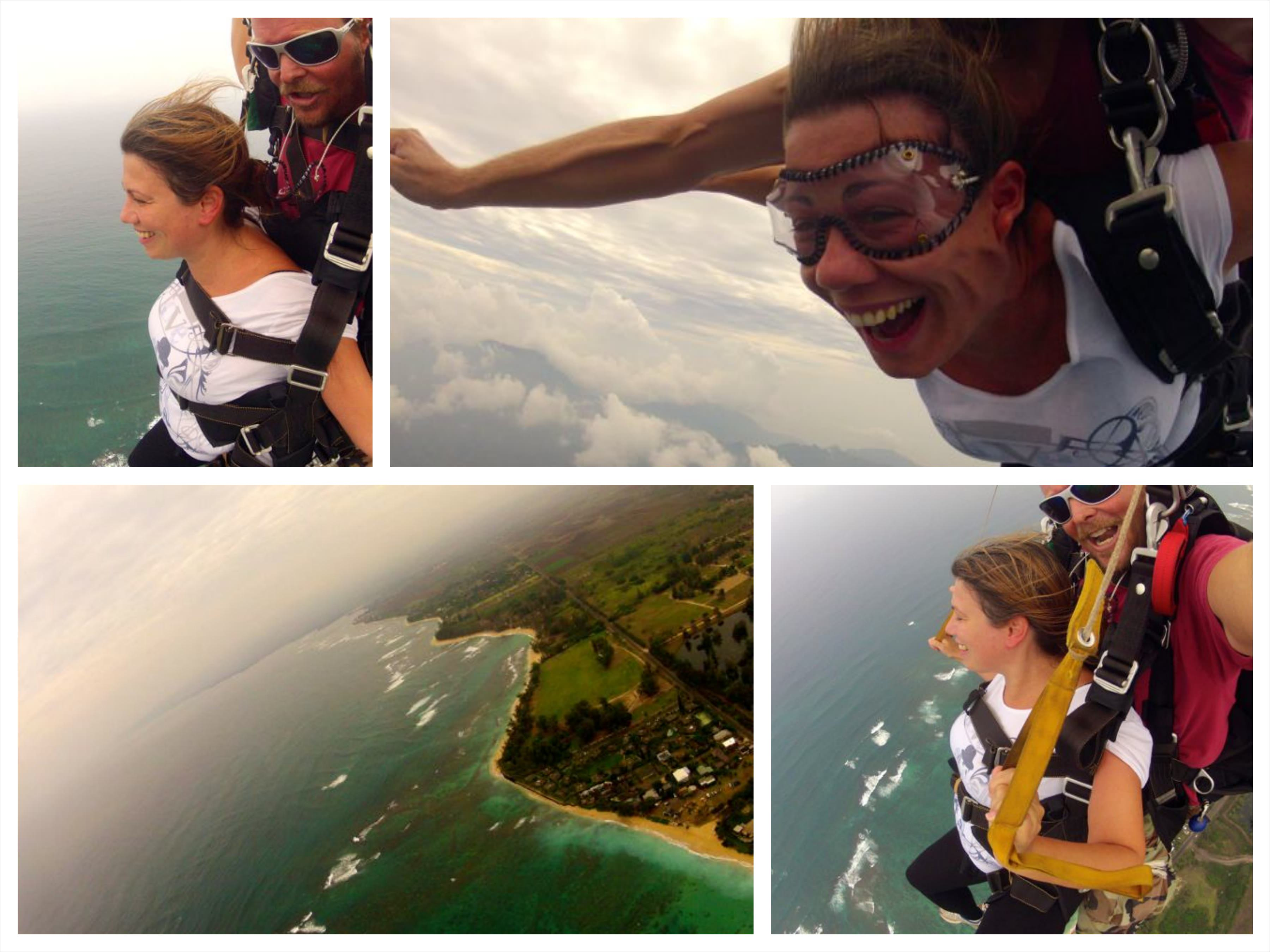 Skydive Hawaii Collage