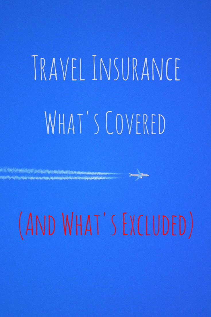 What does travel insurance cover Pinterest