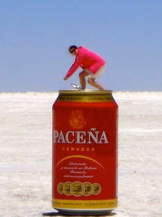 Bolivian Salt Flats Perspective