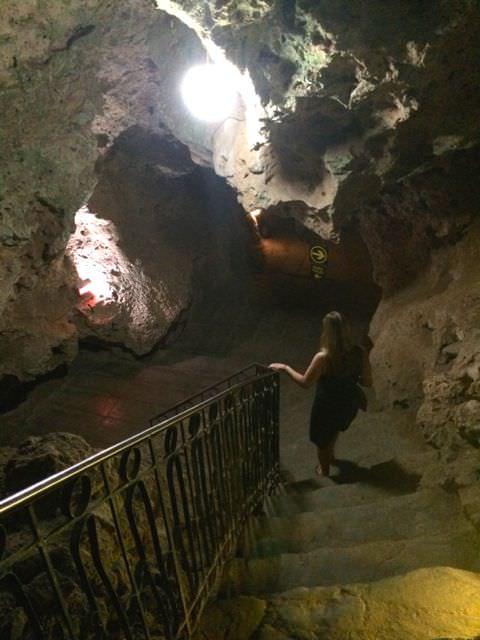Heading into Ayala Disco Hotel Las Cuevas