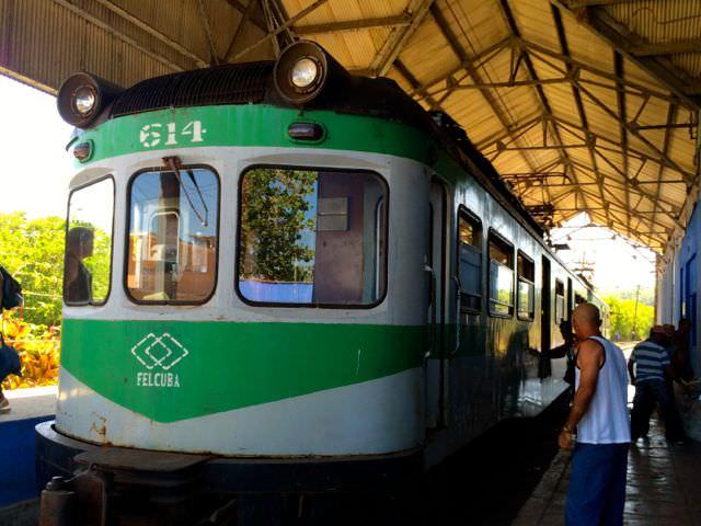 Hershey Train Cuba in Matanzas