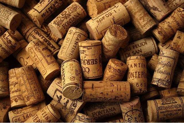 Earn Flyer Miles Wine Corks