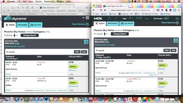 Skyscanner Dynamic Pricing