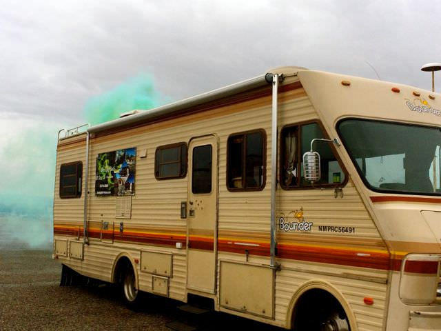 Breaking Bad Tour Cooking Van