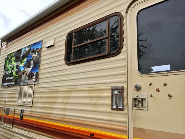 Breaking Bad Tour RV Door