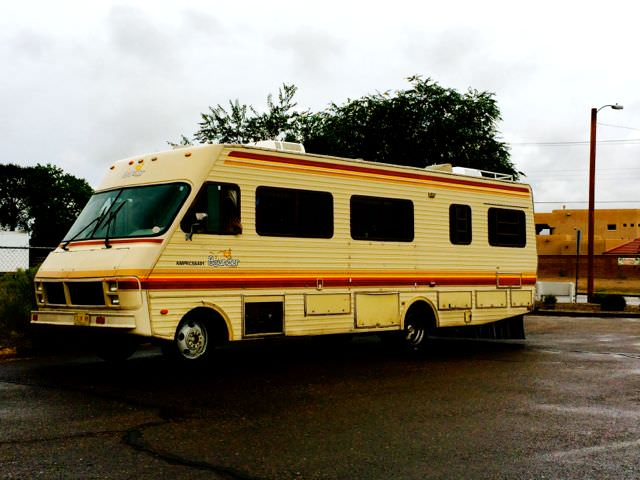 Breaking Bad Tour RV side