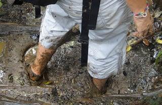 worst travel stories volcano hike barefoot