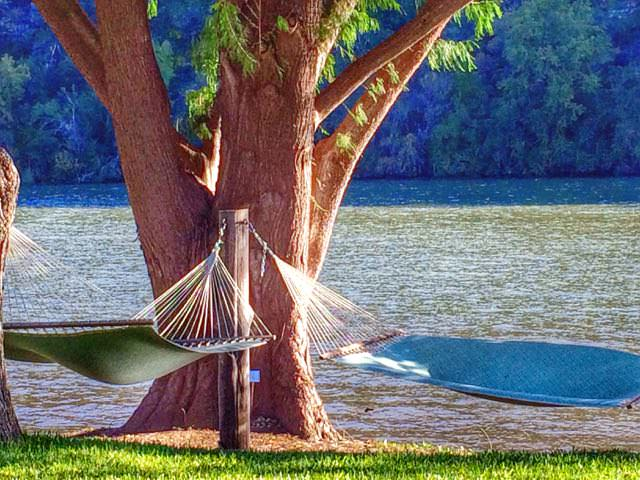 Lake Austin Spa Resort Kickstart Fitness Hammock 2