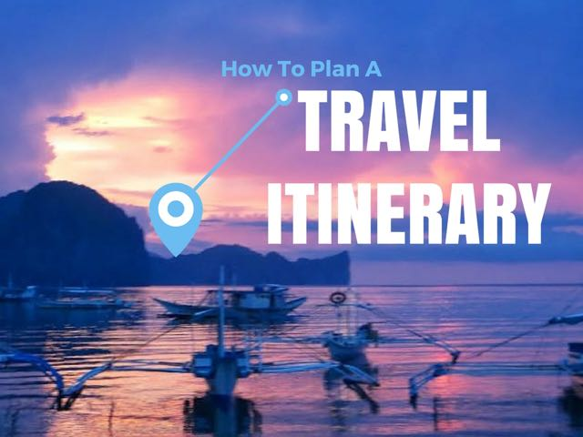 How to plan a trip planning an itinerary indiana jo for Planning colorado vacation