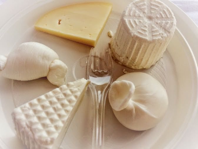 Regional Food in Puglia Cheese