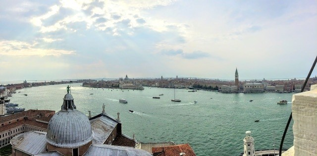 View of Venice from San Giorigo Maggiore bell tower - things to do in Venice