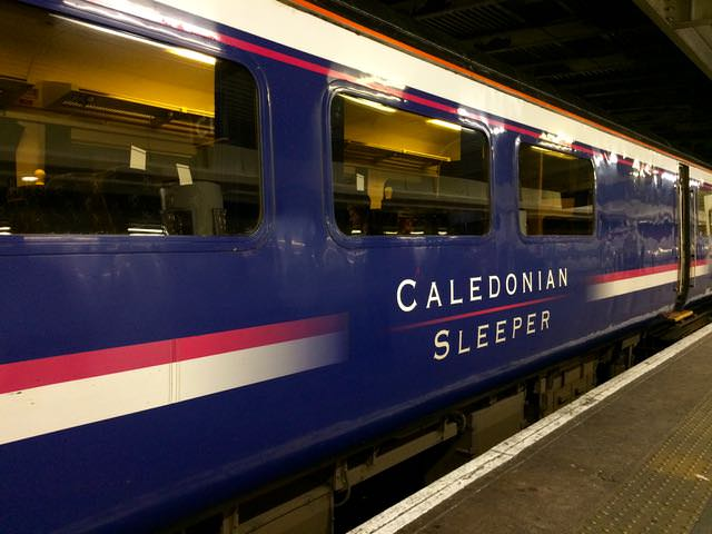 Best Things to Do in Scotland on the West Coast - Caledonian Sleeper Train