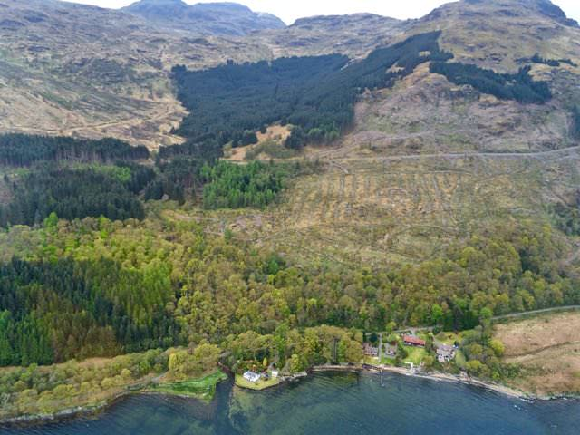 Best things to do in scotland - Helicopter over Lochs