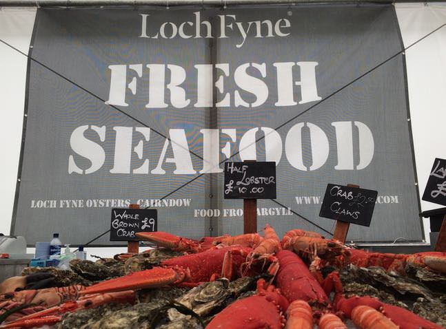 Best things to do in scotland - Loch Fyne fresh fish