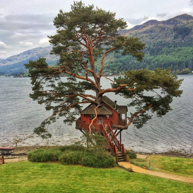 Best things to do in scotland - Lodge on Loch Goil