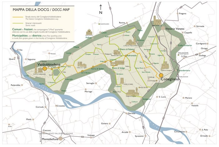 Prosecco Tour region