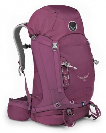 Best Backpak for travelling Osprey Kyte