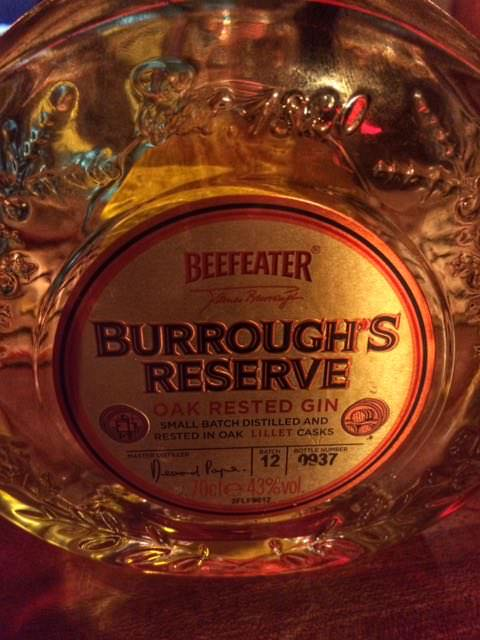 Beefeater Borough's Reserve