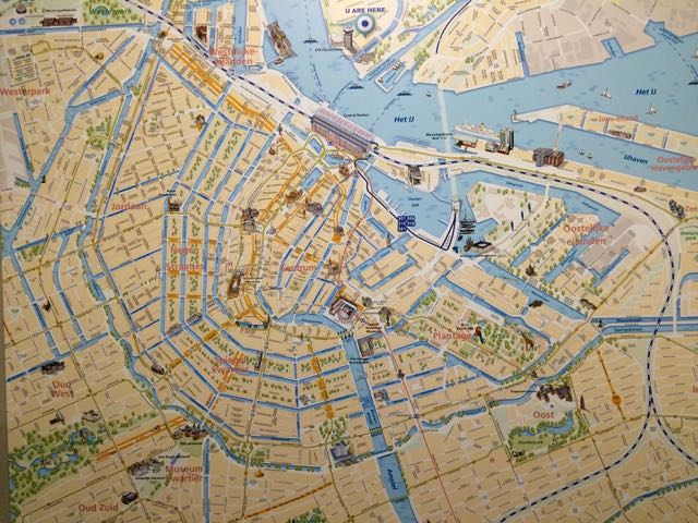 Alternative Amsterdam Noord Map