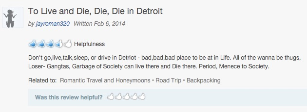 is detroit safe scaremongering