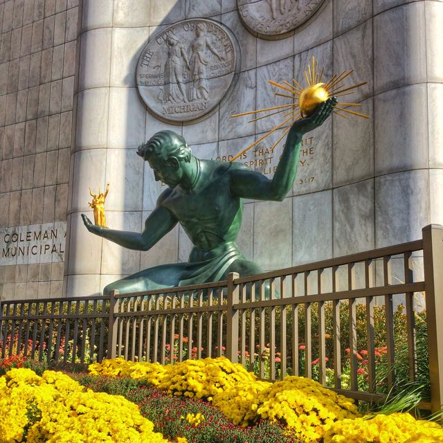 What to do in Detroit - the spirit of Detroit