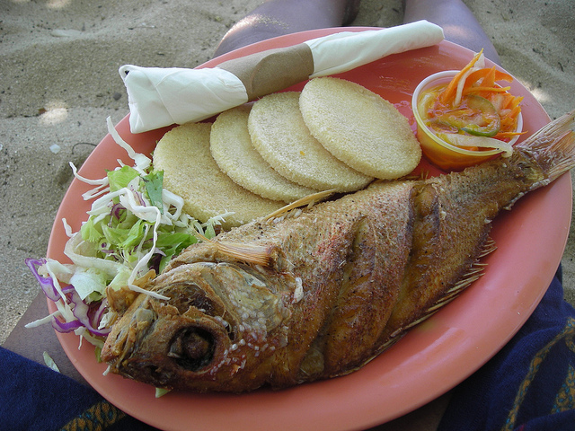 What to eat in Jamaica Bammy