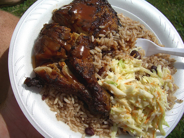 What to eat in Jamaica Rice and peas