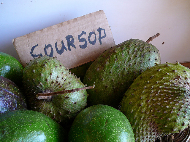 What to eat in Jamaica Soursop