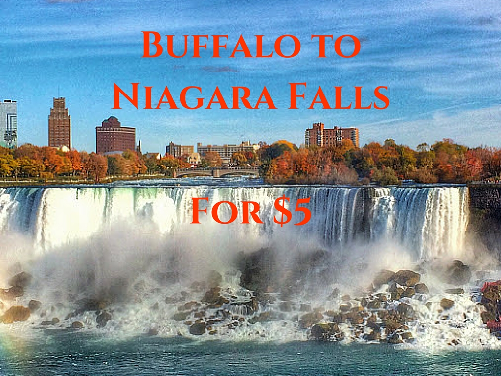 from buffalo to niagara falls for only 5 indiana jo rh indianajo com buffalo to niagara falls transportation buffalo to niagara falls shuttle