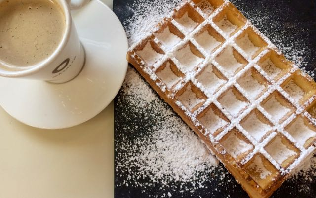 Where to eat and drink in Brussels on a Weekend Trip Waffles