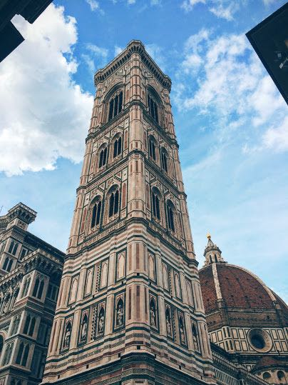 3 Days in Florence Italy Giottos bell tower
