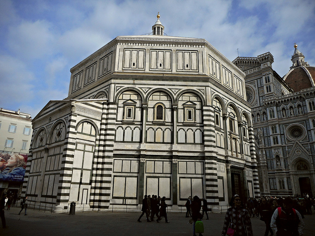 3 days in Florence Italy Baptistry