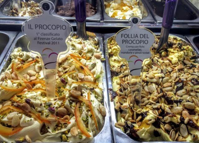 3 days in florence best gelato il procopio